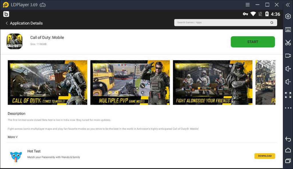 Download Call Of Duty Mobile On PC