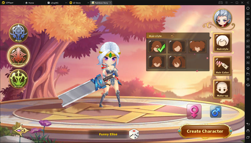 How to Download and Play Rainbow Story: Fantasy MMORPG on PC