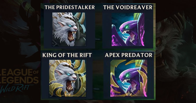 LOL Wild Rift Upcoming Masters of the Hunt event reward list