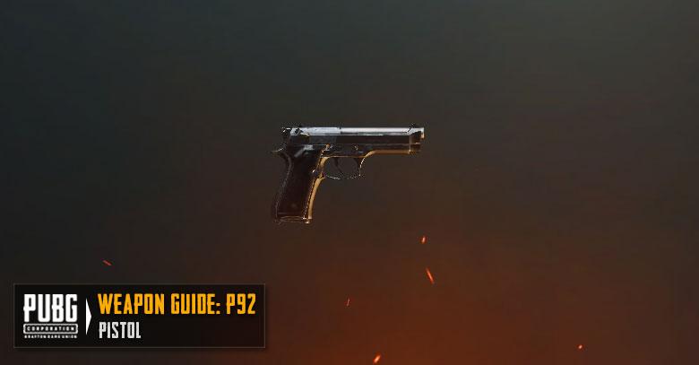 PUBG Tier List P92