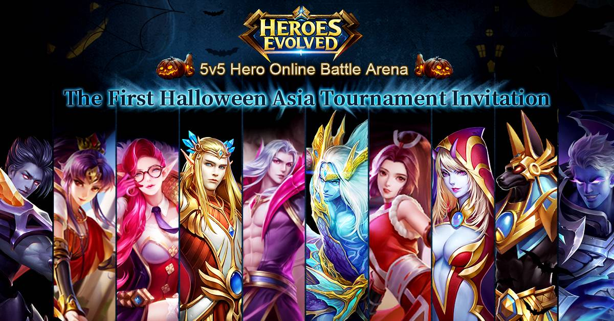 Heroes Evolved in Golden Time for Esport...
