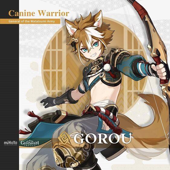 Genshin impact Gorou