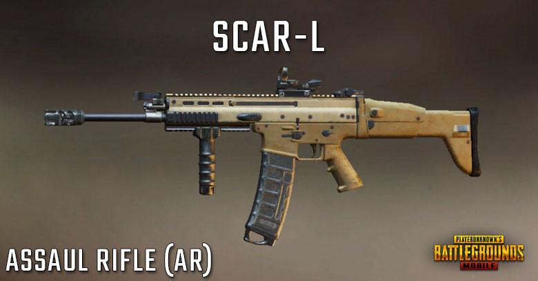 PUBG Tier List Scar-L