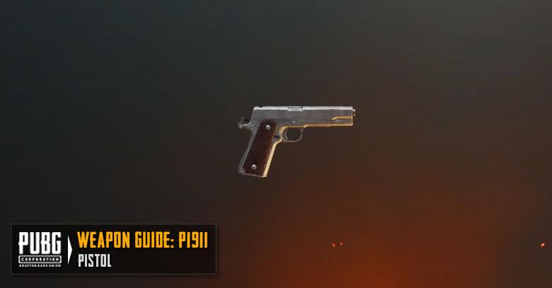 PUBG Tier List P1911