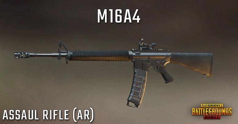 PUBG Tier List M16A4