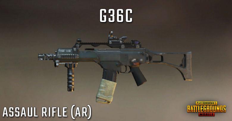 PUBG Tier List G36C