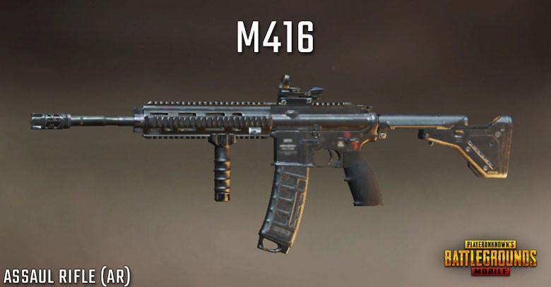PUBG Tier List M416