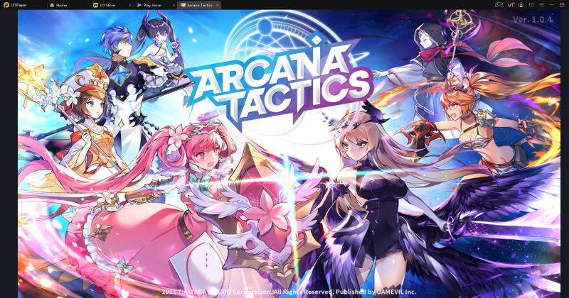 How to download and play Arcana Tactics on PC?
