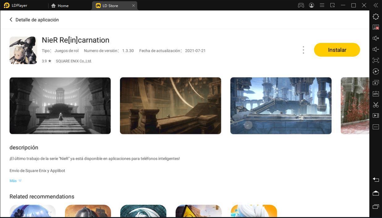 Cómo descargar y jugar NieR Re[in]carnation en (PC) Windows 2021   NIER RE[IN]CARNATION disponible el 28 de julio