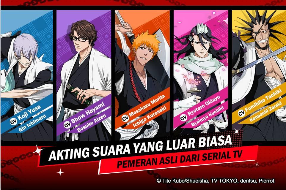 Game ponsel terbaru BLEACH terpopuler BLEACH: Eternal Soul akan segera hadir di Asia Tenggara! Lakukan Pra-Register untuk mendapatkan Gatcha 10x!