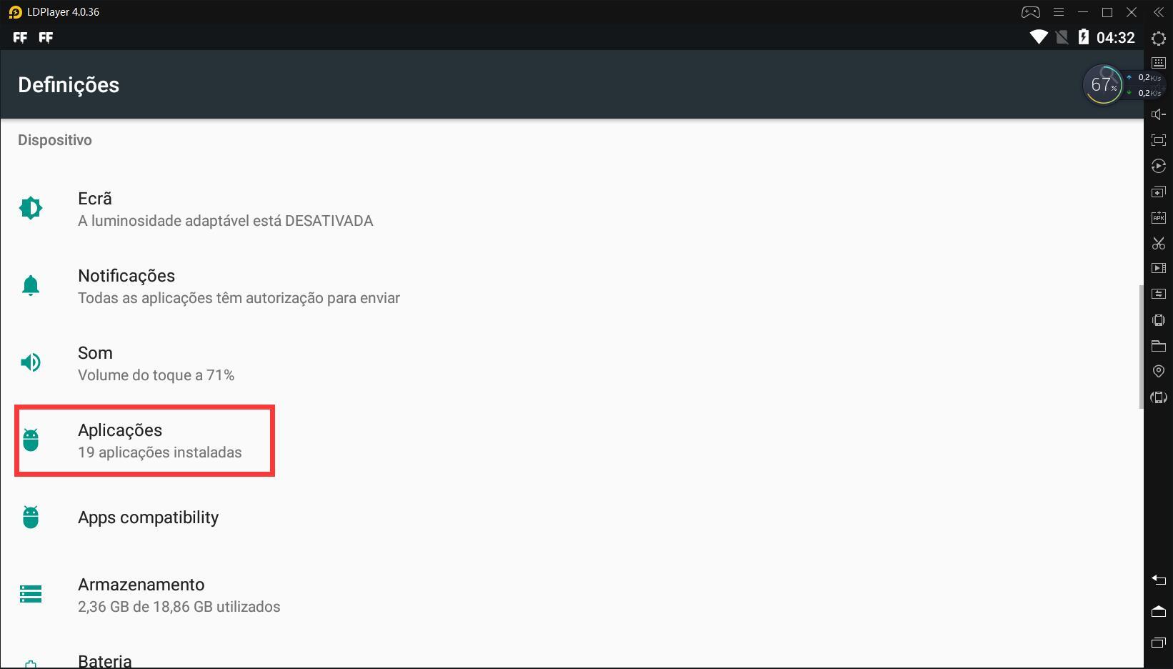 Solução de alto uso de CPU- Google play store