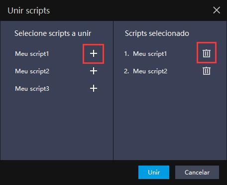 Porque combinar scripts ?   Dicas de configuração
