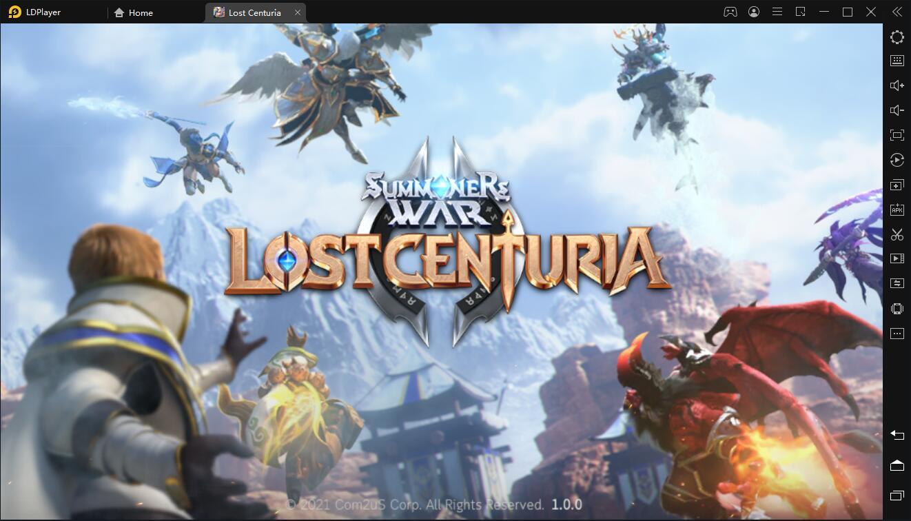 วิธีการติดตั้งและการเล่นเกม Summoners War: Lost Centuria บน PC