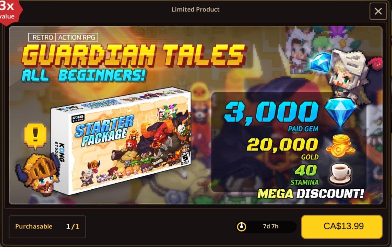 【攻略】《守望傳說 Guardian Tales》模擬器刷首抽初始+禮包推薦!