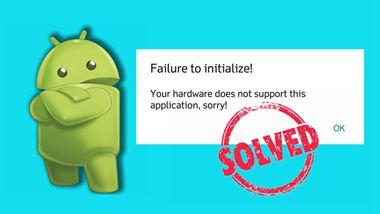 """Métodos para resolver""""Falha ao inicializar""""no emulador"""