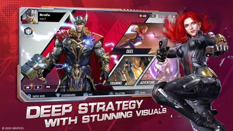 MARVEL Duel: Marvel Strategy Card Game C...